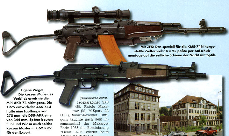 east german ddr ak 47